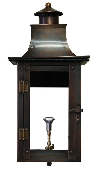 Four sided Colonial lantern
