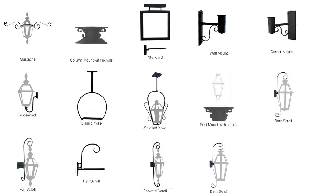 French Quarter Lantern (stainless steel)