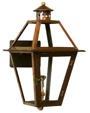 "12"" - 35"" French Quarter Lantern (copper)"