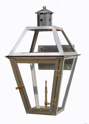French Quarter Lantern (stainless steel)