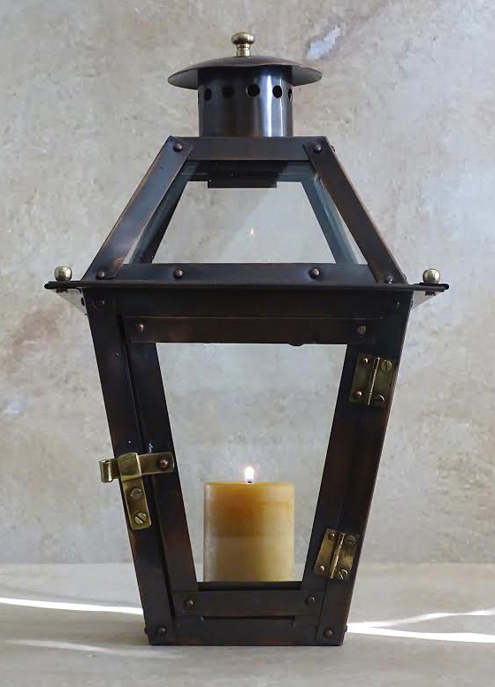 """12"""" French Quarter Candle Lantern (candle not included)"""