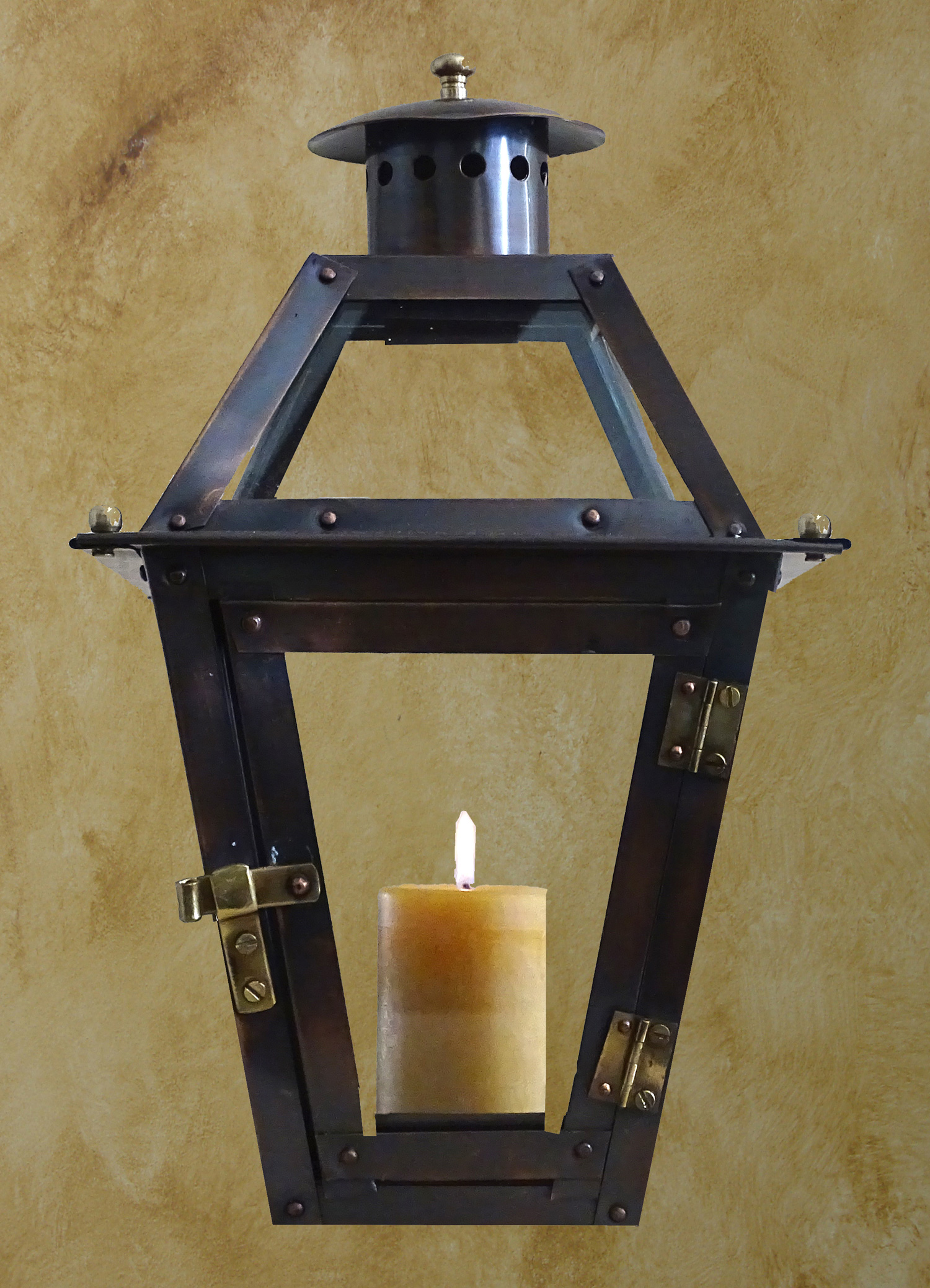12 French Quarter Candle Lantern Not Included