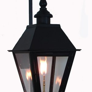 Ironman Pro Series All Steel Lantern French Quarter Style with London Top and Bottom Finials Premium S Scroll