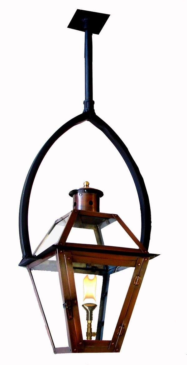 French Quarter Lantern on Summit Yoke